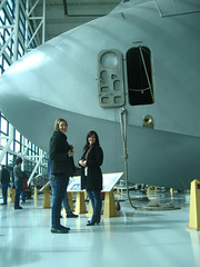 Jessica, Petra and the Spruce Goose