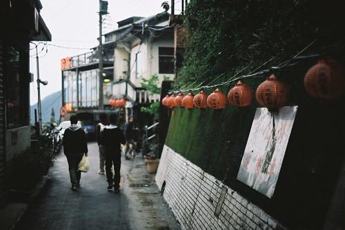 陰雨中的九份 by chunichiu