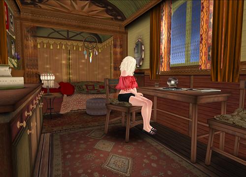 Style - La Roulotte, inside