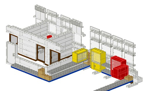 Work In Progress - LEGO® 'Loyds Toys' Toy Shop Middle Floor Design