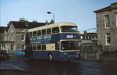 Newton EAG981D Dingwall (Guy Arab UF) Tags: bus buses scotland highlands 1966 alexander newton daimler fleetline dingwall rossshire a1service crg6lx moffatwilliamson eag981d
