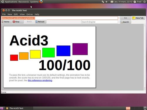 100% à Acid3 ?
