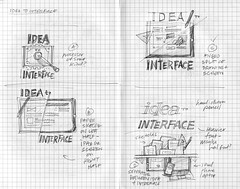 Idea to Interface: Pencil Concepts: Page 3-4