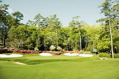 Amen Corner - Augusta National Golf Club - Masters (Mike Fiechtner) Tags: green sports golf photographer masters amencorner augustanational masterstournament bobbyjones seattlephotographer alistermackenzie augustanationalgolfclub golfphotography mastersgolftournament 13thgreen cliffordroberts angc mikefiechtner