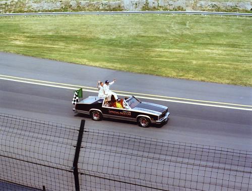 Foyt's 1977 Victory lap