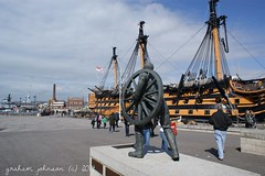 HMS Victory ( EXPLORED) (gmj49) Tags: sony victory portmouth gmj a350