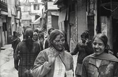 Manali, India [16/24] (Robert Panik) Tags: manali himachal india asia street bw people kodak trix canon a1 film blackandwhite noiretblanc analog documentary 50mm culture sepia holi festival