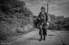 FJR5-12 (Andy Darby) Tags: bosworthfjr5 bosworth battlefield railway battlefieldrailway fjr5 fallschirmjager german reenactment uniform k98 mg42 ppsh41 marching war andydarby