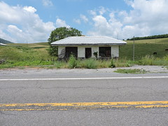 ABANDONED BUILDING (SneakinDeacon) Tags: servicestation swva route52 bland abandonded