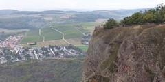 Blick auf die Bastei auf dem Rotenfels