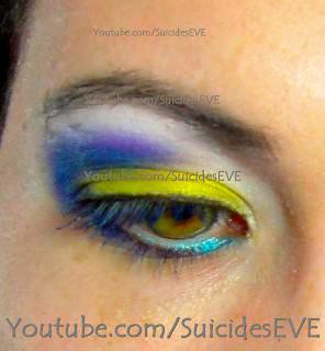 "Dinair airbrush makeup look ""beautiful Iris"""