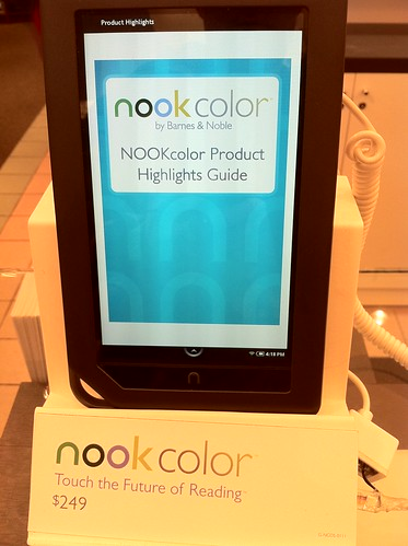 Nook Color: Touch the Future of Reading