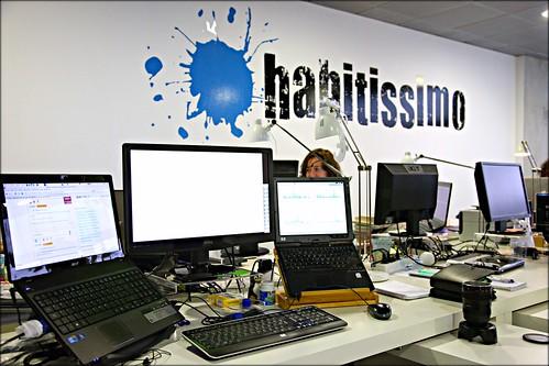 Mi mesa de trabajo en la oficina