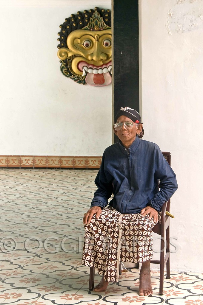 Indonesia - Tamansari Man at the Doorway