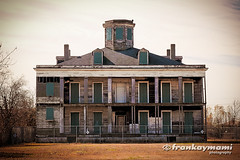 Lebeau Plantation in Arabi, LA (frankphotog) Tags: abandoned home neworleans plantation arabi shuttered lebeau