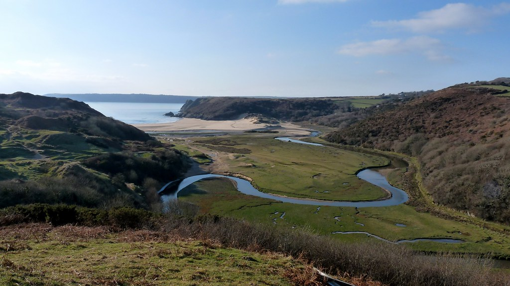 23885 - Three Cliffs Bay, Gower