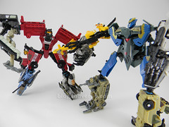Transformers Smolder Power Core Combiners - modo combinado vs Skyburst