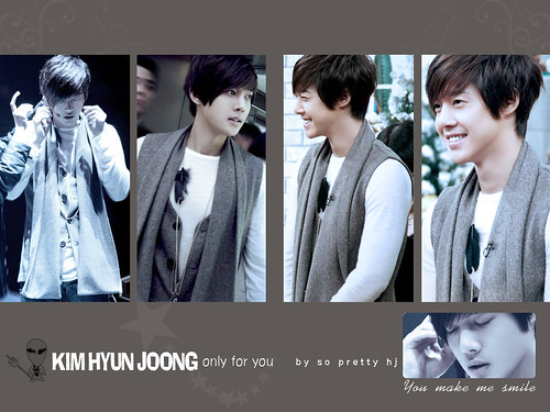Kim Hyun Joong Febuary Calendar and Desktop Wallpapers