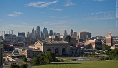 Kansas City Skyline, 2 July 2010