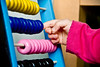 8/10: Irene is my Teacher (ALERAI {subsidiary&book exercises}) Tags: pink baby hand rosa mano irene bambina pallottoliere dialettica alerai alessandraraimondi