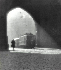 Morning Tram, 1924  ( Josef Sudek, 1896-1976 ) (Jordi@photos) Tags: josef sudek