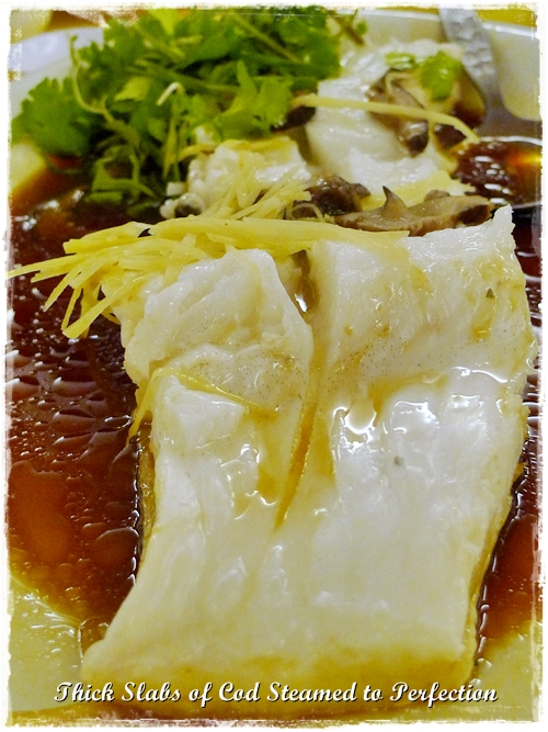 Steamed Cod in Soy Sauce