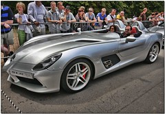 "Mercedes Benz Mclaren SLR ""Stirling Moss Edition"" Supercar. Goodwood Festival of Speed 2009 (Antsphoto) Tags: car sussex classiccar britain historic mclaren mercedesbenz fos supercar hdr motorracing carshow motorsport topaz mclarenmercedes goodwoodfestivalofspeed goodwoodhouse mercedesbenzmclarenslr antsphoto topazadjust stirlingmossedition anthonyfosh"