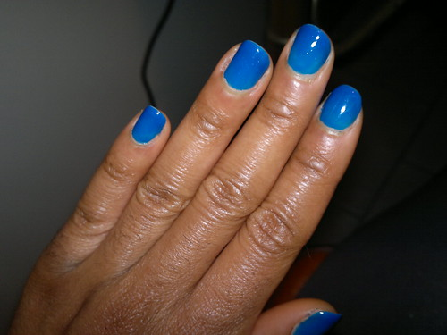 Mattese Neon Lightening Blue