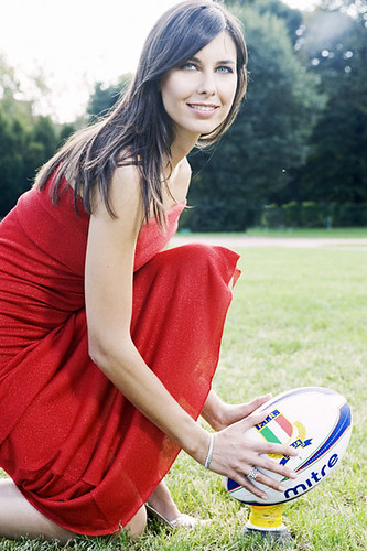 Tania Zamparo, volto del salotto rugby su Sky