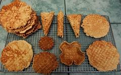 Homemade organic vanilla / nutmeg pizzelle (L. Z.) Tags: gmofreeworld