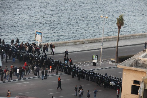 demonstration on Police day (25.01.2011)