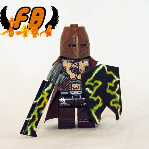 Custom minifig Ranger - Wandering Orc