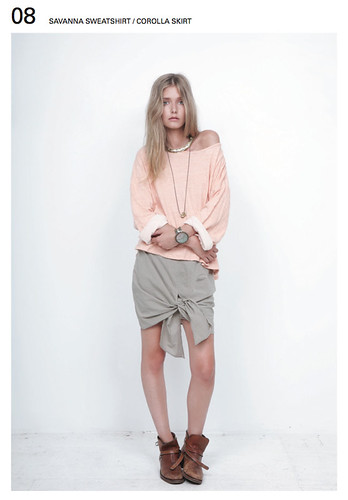 bodkin savanna sweatshirt corolla skirt