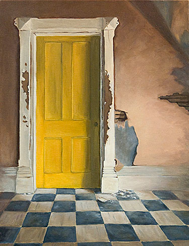 Yellow Door by Michelle Basic Hendry