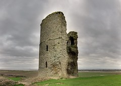 Southern Tower (trisgti) Tags: uk greatbritain england cloud castle canon unitedkingdom dramatic wideangle panoramic medieval powershot gb essex hadleigh dri hdr hugin s95