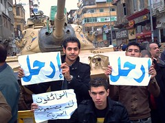 Egyptian Youth (MS4d) Tags: youth soldier army fight riot chaos force tank flag military protest attack january egypt police security clash demonstration 25 revolution egyptian soldiers guns mass  anti blockade troops protesters  mubarak    damietta