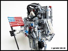 "Astronaut (""grohl"") Tags: lego space astronaut technic human apollo armstrong challenge moc kosmonaut"