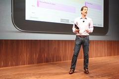 Jon Rubenstein introduces new HP TouchPad