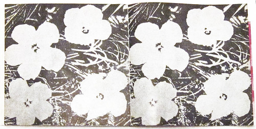 Andy Warhol, interior flowers
