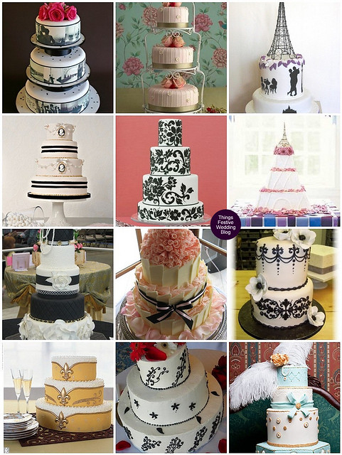 parisian wedding cakes