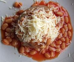 February 10th 2011 [041365] (Scooby39) Tags: food cheese beans potato comfort bakedbeans jacketpotato