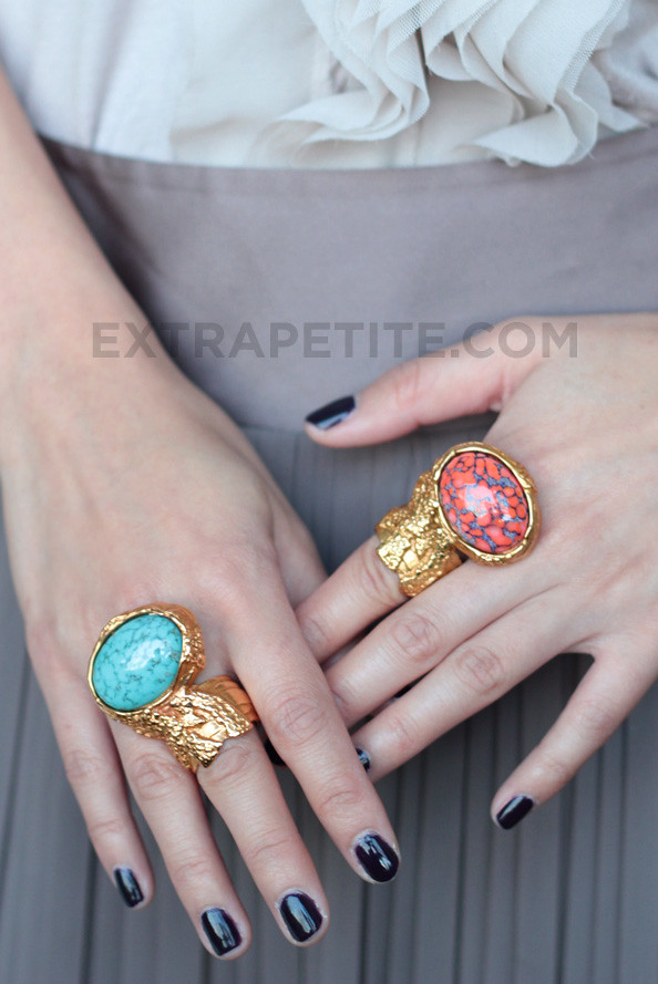 Spot The Steal - YSL Arty Ring | TfDiaries By Megan Zietz