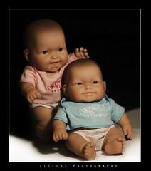 Twins .. (ZiZLoSs) Tags: baby macro canon eos twins babies 7d usm f28 aziz ef100mmf28macrousm abdulaziz  ef100mm 365daysproject zizloss  3aziz canoneos7d almanie abdulazizalmanie httpzizlosscom