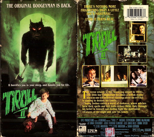 Troll 2 (VHS Box Art)