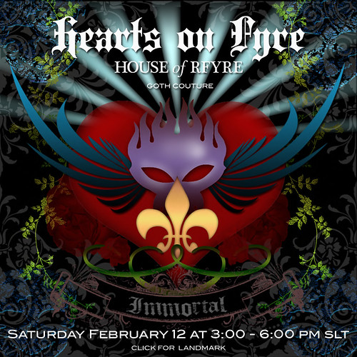 RFyre Hearts On Fyre Invite