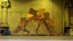 Building an MDF Dino (acerone) Tags: andy bristol dinosaur acer council mdf acerone