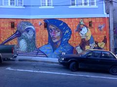 Memoria acción (Isabella GLVZ) Tags: chile valparaiso grafitti arte fros