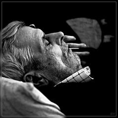 Moj Punac (wigerl - herwig ster) Tags: portrait blackandwhite sleep omer schwarz schlaf weis sonyalpha700