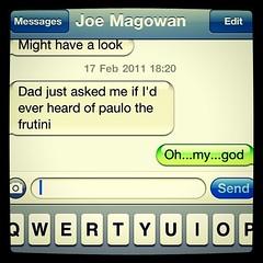 Oh, dad