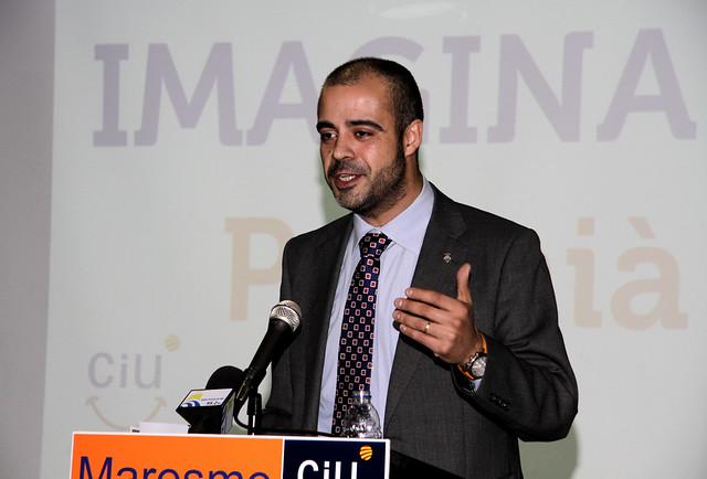 Miquel Buch, cap de llista CiU a Premià de Mar (foto. Miquel Rubís) 5